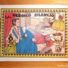 Tebeos: TEBEO-COMIC P/ NIÑAS - REVISTA JUVENIL FEMENINA AZUCENA - Nº 81 - HEROICO SILENCIO - TORAY. Lote 193318895