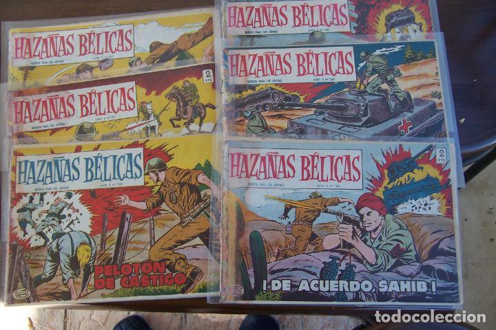 TORAY,- HAZAÑAS BÉLICAS DESDE EL 260 A 268 (Tebeos y Comics - Toray - Hazañas Bélicas)