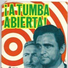 Tebeos: A TUMBA ABIERTA, ESPIONAJE - EDICIONES TORAY 1966, Nº 41. Lote 193585593