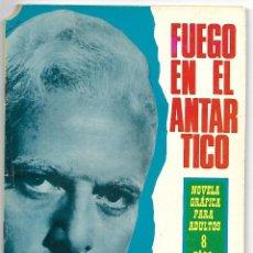 Tebeos: FUEGO EN EL ANTARTICO, ESPIONAJE - EDICIONES TORAY 1966, Nº 37. Lote 193606535