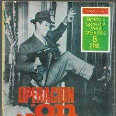 Tebeos: OPERACION ON THE ROCKS, ESPIONAJE - EDICIONES TORAY 1966, Nº 31. Lote 193609708