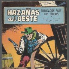 Tebeos: HAZAÑAS DEL OESTE, PUBLICACIOBN PARA LOS JOVENES - EDICIONES TORAY 1971, Nº 236. Lote 193612188