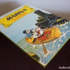 Tebeos: Nº 1 LES AVENTURES DE LA MARINA. EL JURAMENT DE LA TORRE NEGRA. EDITORIAL TORAY 1986. Lote 193773890