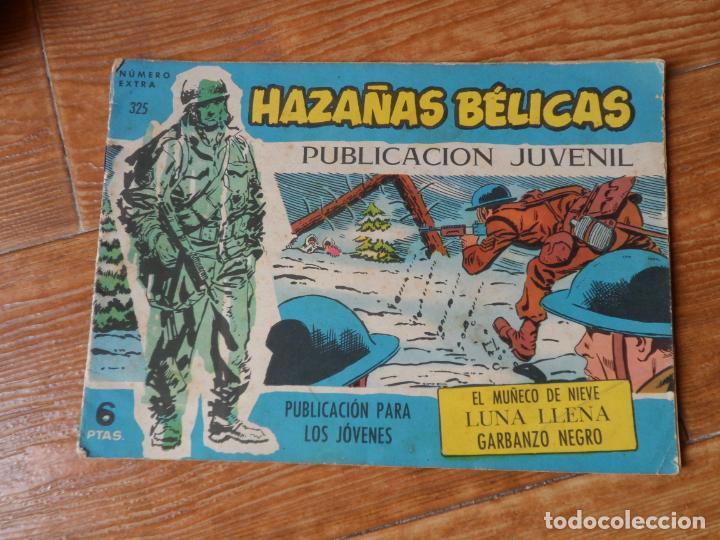 HAZAÑAS BÉLICAS SERIE AZUL Nº 325 TORAY (Tebeos y Comics - Toray - Hazañas Bélicas)