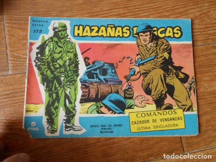 HAZAÑAS BÉLICAS SERIE AZUL Nº 175 TORAY (Tebeos y Comics - Toray - Hazañas Bélicas)