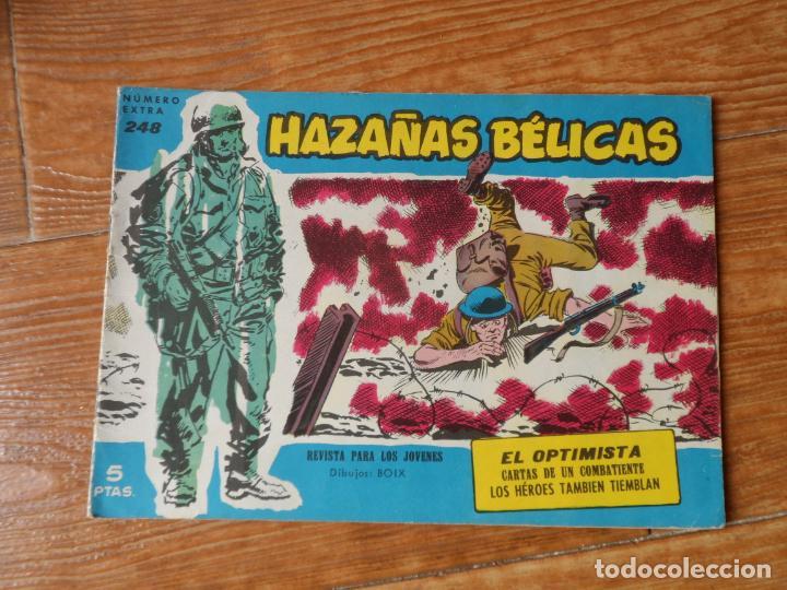 HAZAÑAS BÉLICAS SERIE AZUL Nº 248 TORAY (Tebeos y Comics - Toray - Hazañas Bélicas)