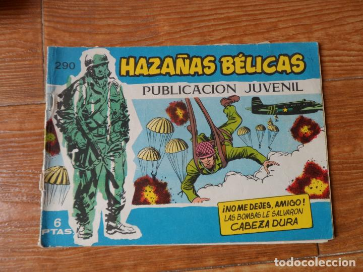 HAZAÑAS BÉLICAS SERIE AZUL Nº 290 TORAY (Tebeos y Comics - Toray - Hazañas Bélicas)