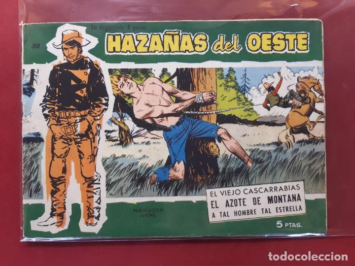 HAZAÑAS DEL OESTE Nº 39 EXCELENTE ESTADO VER FOTOGRAFIAS (Tebeos y Comics - Toray - Hazañas del Oeste)