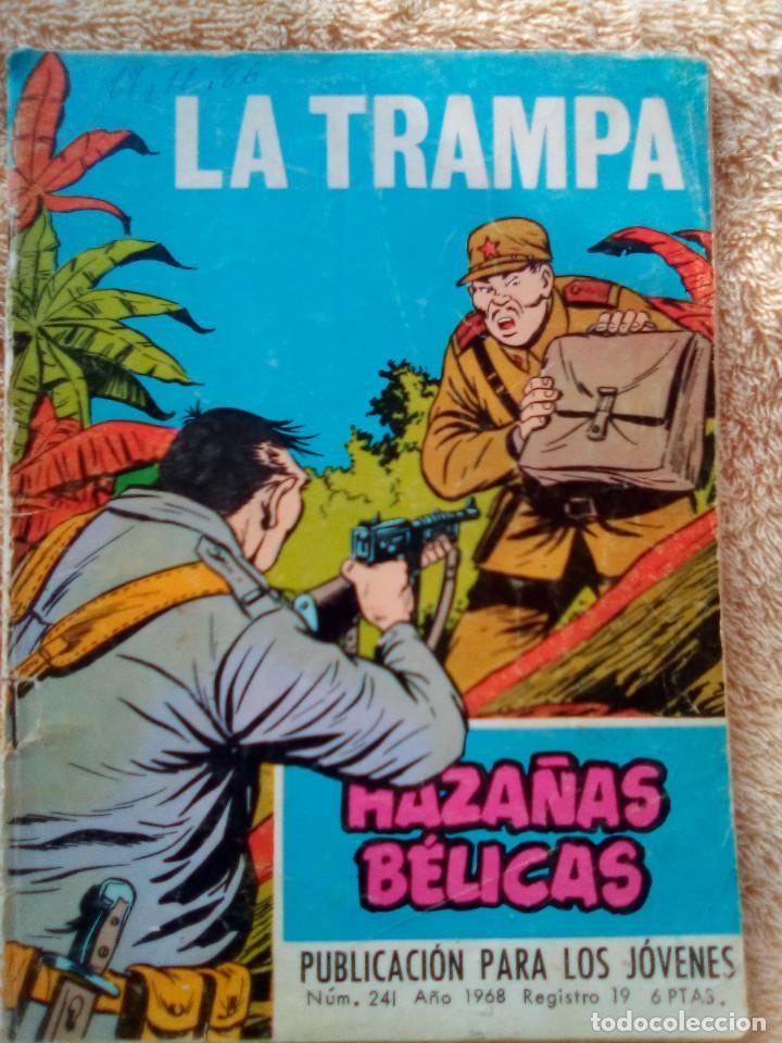 HAZAÑAS BÉLICAS- GORILA- Nº 241 -LA TRAMPA-GRAN ALAN DOYER-1967-ESCASO-DIFÍCIL-CORRECTO-LEAN-3085 (Tebeos y Comics - Toray - Hazañas Bélicas)