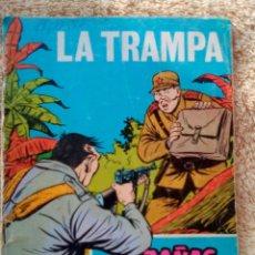 Tebeos: HAZAÑAS BÉLICAS- GORILA- Nº 241 -LA TRAMPA-GRAN ALAN DOYER-1967-ESCASO-DIFÍCIL-CORRECTO-LEAN-3085. Lote 194227438