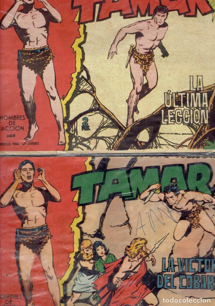 TAMAR 2 COMICS N,144 Y 150 EDICIONES TORAY 1961 (Tebeos y Comics - Toray - Tamar)