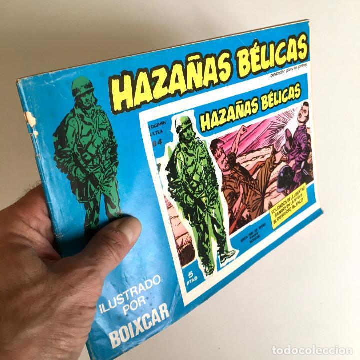 REVISTA DE CÓMICS HAZAÑAS BÉLICAS, VOLUMEN EXTRA Nº 84, ILUSTRADO POR BOIXCAR, 1973 (Tebeos y Comics - Toray - Hazañas Bélicas)
