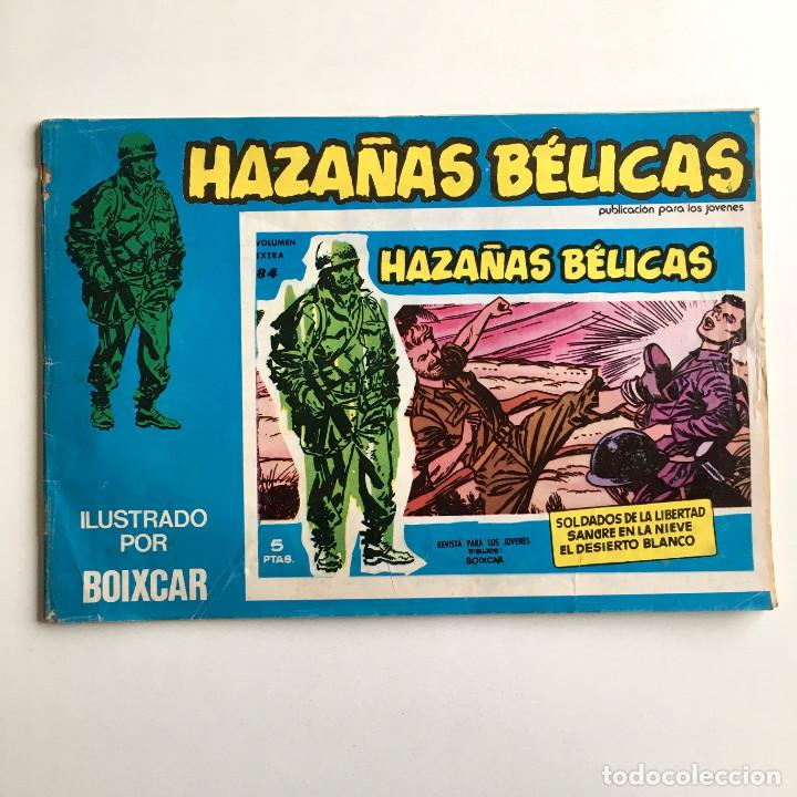 Tebeos: Revista de cómics HAZAÑAS BÉLICAS, volumen extra nº 84, ilustrado por Boixcar, 1973 - Foto 2 - 194338943