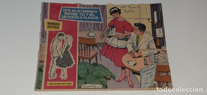 ANTIGUO COMIC COLECCION SUSANA Nº 2 EXTRA - ESTE ES MI CANDIDATO - ED. TORAY AÑO 1959 (Tebeos y Comics - Toray - Susana)