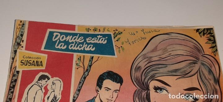 Tebeos: ANTIGUO COMIC COLECCION SUSANA Nº 64 - DOMDE ESTA LA DICHA - ED. TORAY AÑO 1959 MARIA PASCUAL - Foto 2 - 194549022