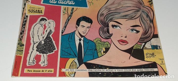 Tebeos: ANTIGUO COMIC COLECCION SUSANA Nº 64 - DOMDE ESTA LA DICHA - ED. TORAY AÑO 1959 MARIA PASCUAL - Foto 3 - 194549022