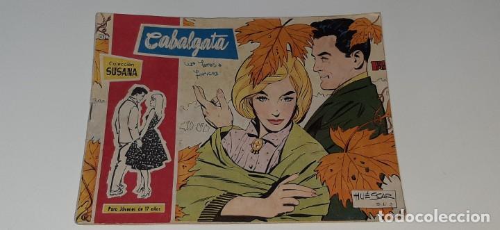 ANTIGUO COMIC COLECCION SUSANA Nº 42 - CABALGATA - ED. TORAY AÑO 1959 (Tebeos y Comics - Toray - Susana)