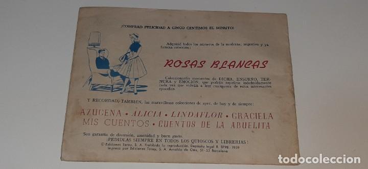 Tebeos: ANTIGUO COMIC COLECCION SUSANA Nº 42 - CABALGATA - ED. TORAY AÑO 1959 - Foto 3 - 194549051