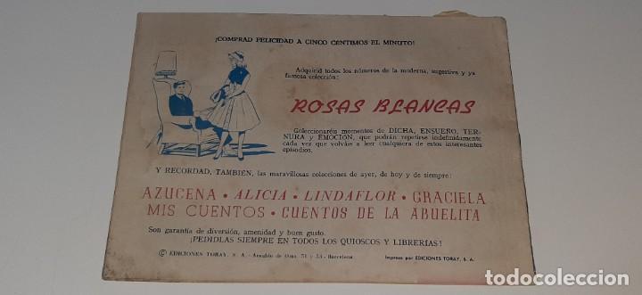 Tebeos: ANTIGUO COMIC COLECCION SUSANA Nº 25 - EL VERDADERO PAPEL - ED. TORAY AÑO 1959 - Foto 2 - 194549070