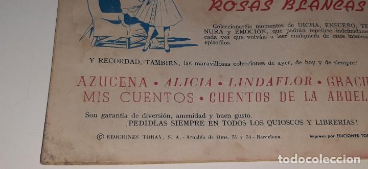 Tebeos: ANTIGUO COMIC COLECCION SUSANA Nº 25 - EL VERDADERO PAPEL - ED. TORAY AÑO 1959 - Foto 3 - 194549070