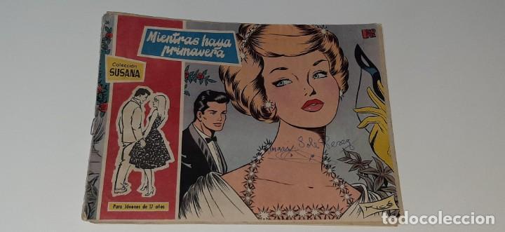 ANTIGUO COMIC COLECCION SUSANA Nº 36 - MIENTRAS HAYA PRIMAVERA - ED. TORAY AÑO 1959 (Tebeos y Comics - Toray - Susana)