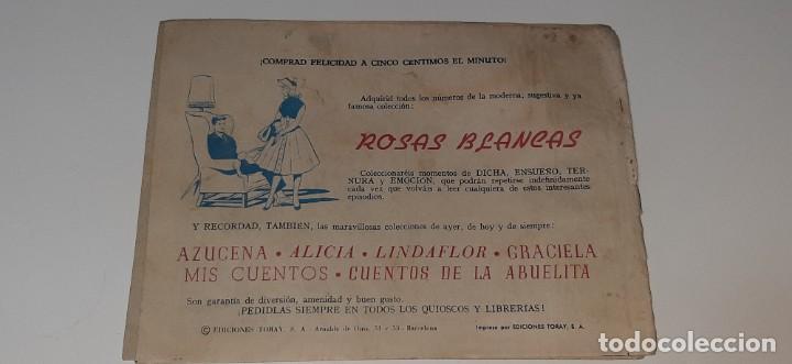 Tebeos: ANTIGUO COMIC COLECCION SUSANA Nº 36 - MIENTRAS HAYA PRIMAVERA - ED. TORAY AÑO 1959 - Foto 3 - 194549102