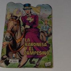 Tebeos: ANTIGUO COMIC TROQUELADO - COLECCION MIS CUENTOS Nº 325 - LA BARONESA Y EL CAMPESINO ED. TORAY. Lote 194556732