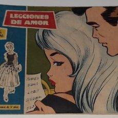Tebeos: ANTIGUO COMIC COLECCION ROSAS BLANCAS Nº 144 - LECCIONES DE AMOR - ED. TORAY AÑOS 50 RAY. Lote 194558350
