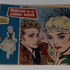 Tebeos: ANTIGUO COMIC COLECCION ROSAS BLANCAS - SURCOS EN EL CIELO AZUL - ED. TORAY AÑO 1959. Lote 194573596