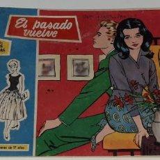 Tebeos: ANTIGUO COMIC COLECCION ROSAS BLANCAS Nº 22 - EL PASADO VUELVE - ED. TORAY AÑO 1959. Lote 194574627