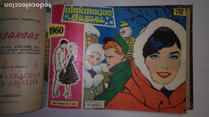 Tebeos: * SUSANA EXTRA * EDICIONES TORAY 1960 * TOMO 18 Nº ORIGINALES ENCUADERNADOS * - Foto 7 - 194616571
