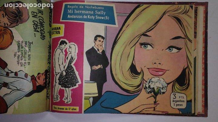 Tebeos: * SUSANA EXTRA * EDICIONES TORAY 1960 * TOMO 18 Nº ORIGINALES ENCUADERNADOS * - Foto 12 - 194616571
