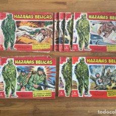 Tebeos: LOTE 13 HAZAÑAS BELICAS (SERIE ROJA) - PROVIENEN DE TOMO ENCUADERNADO - ORIGINAL - GCH1. Lote 194673610