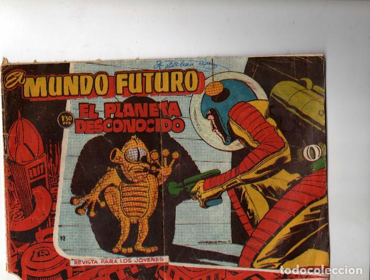 EL MUNDO FUTURO Nº 93 (Tebeos y Comics - Toray - Mundo Futuro)