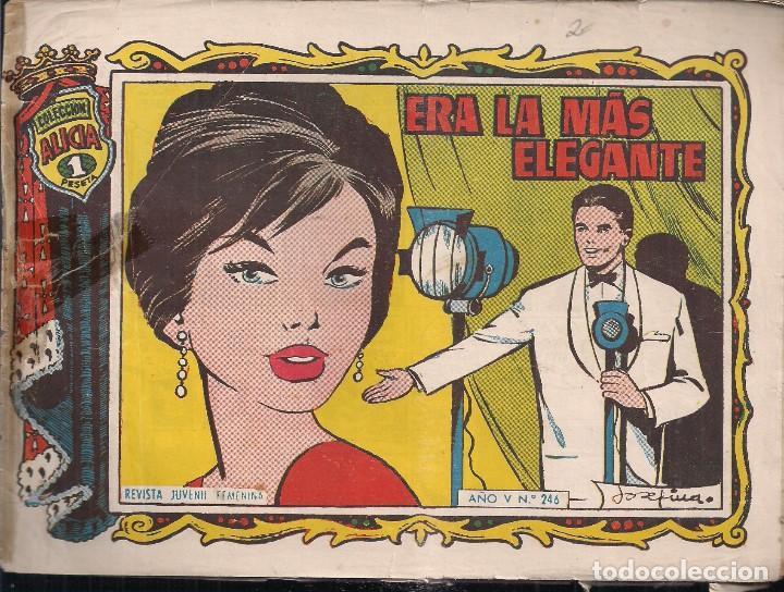 ALICIA Nº 246 (Tebeos y Comics - Toray - Alicia)