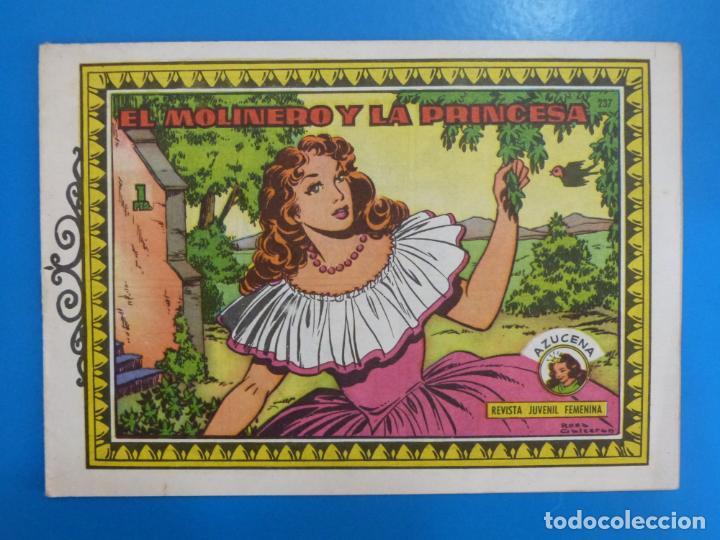 COMIC DE EL MOLINERO Y LA PRINCESA Nº 237 EDICIONES TORAY LOTE 26 (Tebeos y Comics - Toray - Azucena)