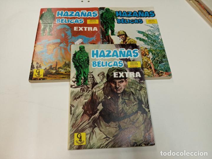 Tebeos: HAZAÑAS BÉLICAS / 9 NÚMEROS EN 3 RETAPADOS / EDICIONES G4 - Foto 3 - 194778713