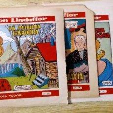 Tebeos: LOTE COLECCION LINDAFLOR AÑO III ,IV Y V Nº 150, 159, 166, 173, 188, 234 TORAY. Lote 194955263