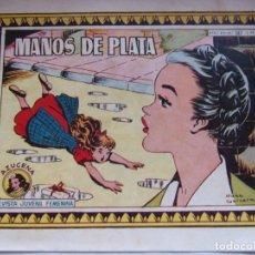 Tebeos: REVISTA JUVENIL FEMENINA AZUCENA NUM 587 MANOS DE PLATA. Lote 194973470