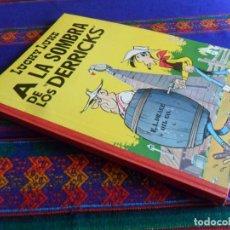 Tebeos: LUCKY LUKE A LA SOMBRA DE LOS DERRICKS TORAY 1ª PRIMERA EDICIÓN 1969. MUY BUEN ESTADO.. Lote 194986965