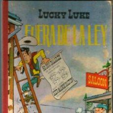 Tebeos: LUCKY LUKE - FUERA DE LA LEY - 2ª EDICIÓN - LOMO TELA - 1969. Lote 195034170