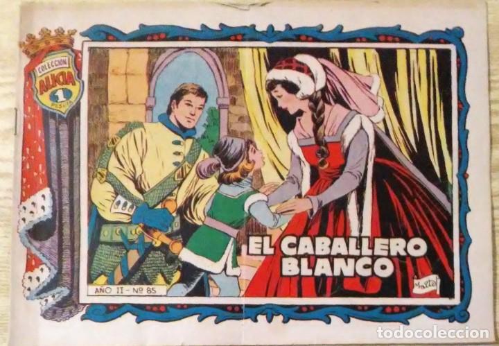 EL CABALLERO BLANCO AÑO II Nº 85 COLECCION ALICIA TORAY (Tebeos y Comics - Toray - Alicia)