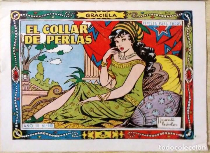 Tebeos: Graciela El collar de perlas nº 140 y princesita si vas a palacio nº 292 Toray espirituazul - Foto 2 - 195027208
