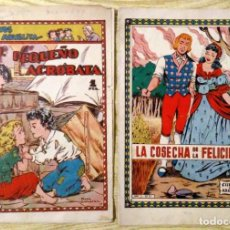 Livros de Banda Desenhada: LOTE CUENTOS DE LA ABUELITA EL PEQUEÑO ACROBATA Nº 32 Y LA COSECHA DE LA FELICIDAD Nº 91 TORAY. Lote 195028138