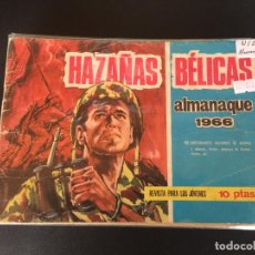 Tebeos: TORAY HAZAÑAS DE GUERRA ALMANAQUE 1966 NORMAL ESTADO. Lote 195104531
