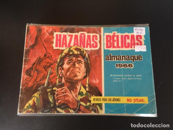 TORAY HAZAÑAS DE GUERRA ALMANAQUE 1966 NORMAL ESTADO (Tebeos y Comics - Toray - Hazañas Bélicas)
