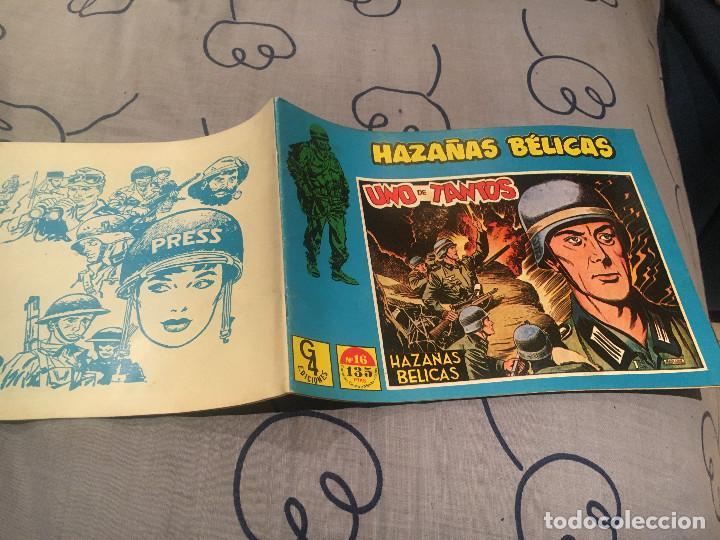 HAZAÑAS BÉLICAS Nº 16 - ILUSTRADO POR BOIXCAR - EDICIONES TORAY / G4 EDICIONES 1989 (Tebeos y Comics - Toray - Hazañas Bélicas)
