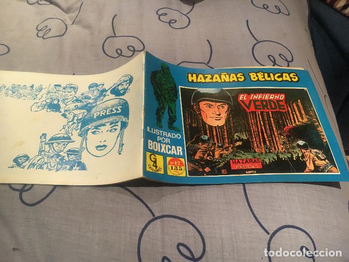 HAZAÑAS BÉLICAS Nº 17 - ILUSTRADO POR BOIXCAR - EDICIONES TORAY / G4 EDICIONES 1989 (Tebeos y Comics - Toray - Hazañas Bélicas)