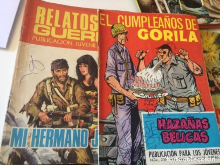 Tebeos: 19 TEBEOS COMICS HAZAÑAS BÉLICAS, RELATOS DE GUERRA , ETC AÑOS 70 - Foto 2 - 195267480