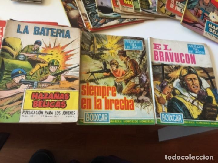 Tebeos: 19 TEBEOS COMICS HAZAÑAS BÉLICAS, RELATOS DE GUERRA , ETC AÑOS 70 - Foto 3 - 195267480